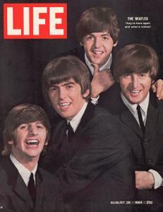The Beatles, Ringo Starr, George Harrison, Paul Mccartney and John Lennon, August 28, 1964 by John Dominis