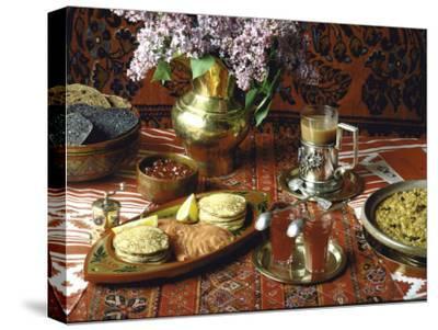 Traditional Russian Breakfast