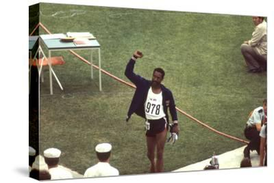 Wayne Collett after Winning Men's 400-Meter Race at 1972 Summer Olympic Games in Munich, Germany