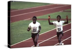 Winners of the 400-Meter Relay Race at the 1972 Summer Olympic Games in Munich, Germany by John Dominis