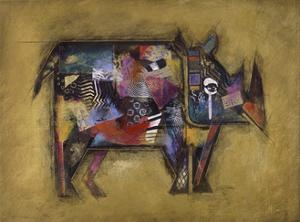 Randy the Rhino by John Douglas