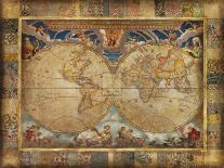 Map of Italy-John Douglas-Art Print