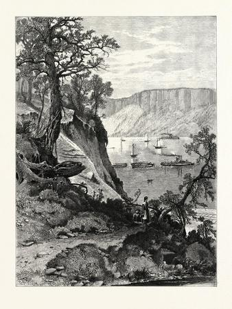 Palisades, from Below Hastings, USA