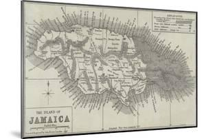 Map of the Island of Jamaica by John Dower