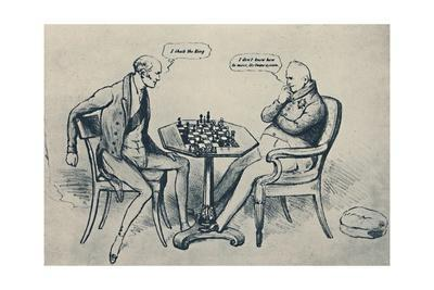'A Game at Chess: Lord Grey Playing William IV', 1948