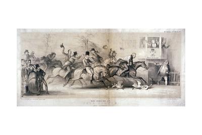 New Version of John Gilpin, after Stothard, 1846