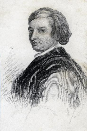 John Dryden, English Dramatist and Poet Laureate--Giclee Print