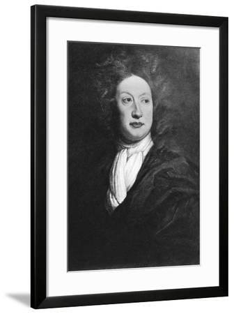 John Dryden, English Poet, Literary Critic, and Playwright-Godfrey Kneller-Framed Giclee Print