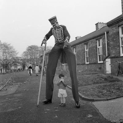 Henry the Stilt Man by John Drysdale