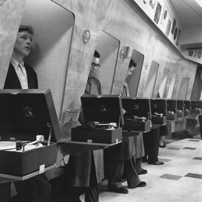 Listening Booths by John Drysdale