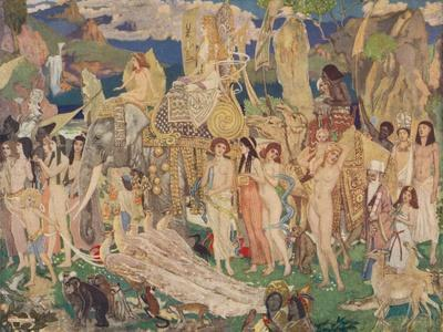 'Ivory, Apes and Peacocks (The Queen of Sheba)', c1909