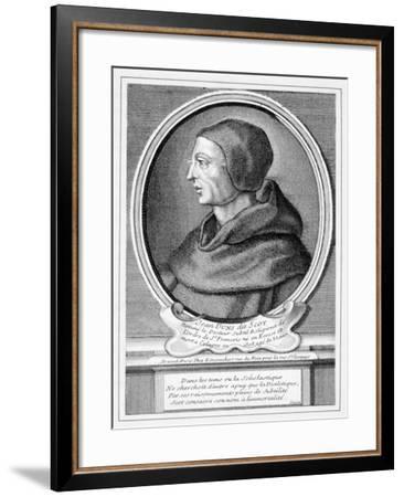 John Duns Scotus (C.1266-1308)--Framed Giclee Print