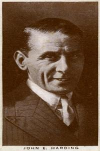 John E Harding, British Boxing Manager and Match-Maker, 1938