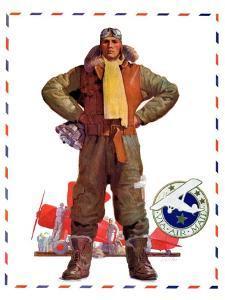 """""""Airmail Pilot,""""December 8, 1934 by John E. Sheridan"""