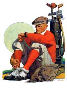 """""""Golfer Kept Waiting,""""September 12, 1931 by John E. Sheridan"""