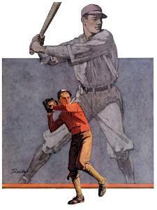 """Shadow Batter,""October 8, 1932 by John E. Sheridan"
