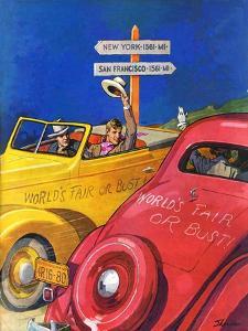 """World's Fair or Bust,""April 22, 1939 by John E. Sheridan"