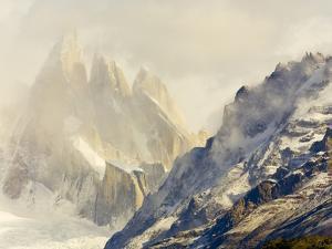 Cerro Torre by John Eastcott & Yva Momatiuk