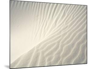 Close-up of Ripples in Sand Dunes by John Eastcott & Yva Momatiuk