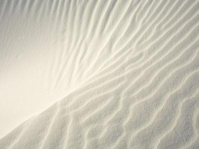 Close-up of Ripples in Sand Dunes