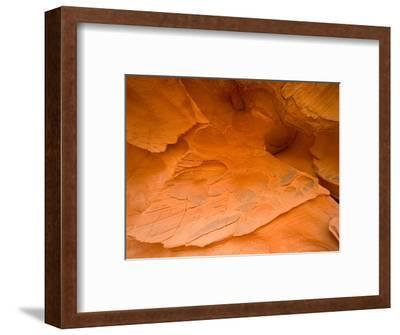 Eroded Sandstone Cliff