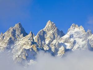 Grand Teton Range by John Eastcott & Yva Momatiuk