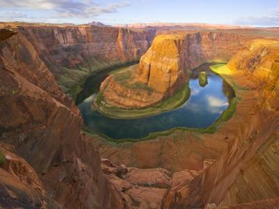 Horseshoe Bend on Colorado River by John Eastcott & Yva Momatiuk