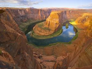 Horseshoe Bend on Colorado River by John Eastcott & Yva Momatiuk
