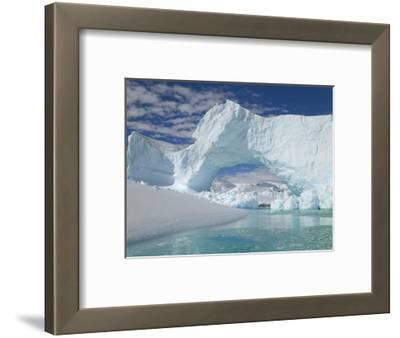 Huge Arch in Iceberg