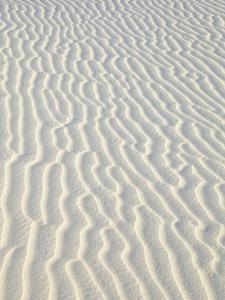 Sand in White Sands National Monument by John Eastcott & Yva Momatiuk