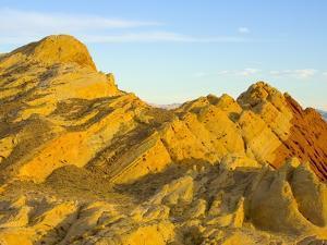 Sandstone Hills in Valley of Fire by John Eastcott & Yva Momatiuk