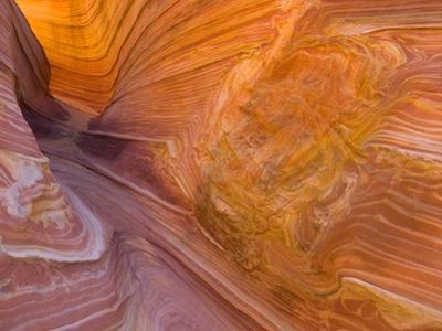 Twisted Layers and Patterns of Red Sandstone Formation by John Eastcott & Yva Momatiuk