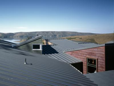 View of Corrugated Roof Tops