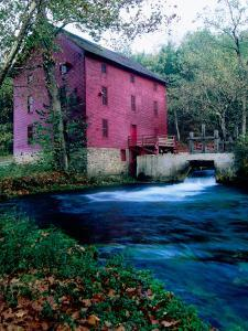 Alley Mill at Alley Spring, Ozarks National Scenic Riverways, Ozark National Park, Missouri by John Elk III