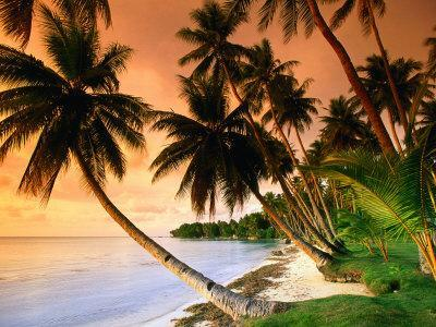 Blue Lagoon Resort Beach, Weno Centre, Micronesia