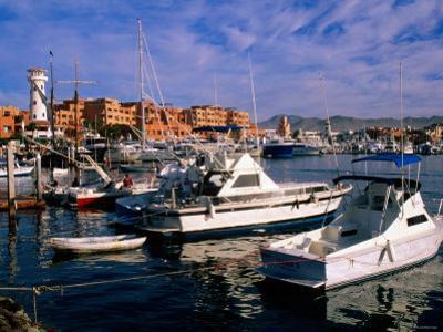 Boats Moored in Marina, Cabo San Lucas, Baja California Sur, Mexico