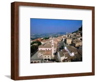 Buildings of Lower Town, San Marino, San Marino