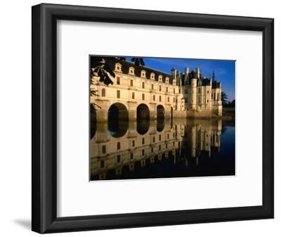 Chateau De Chenonceau along Cher River, Tours, France