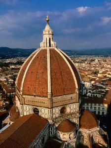 Dome of Duomo from Campanile, Florence, Tuscany, Italy by John Elk III