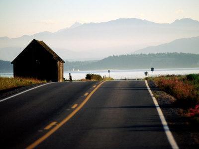 Ebey Road Near Ebey's Landing, Whidbey Island, Washington