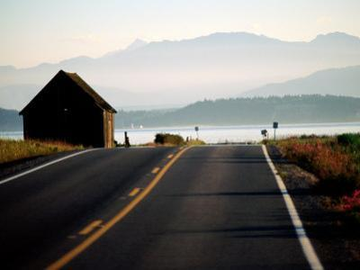 Ebey Road Near Ebey's Landing, Whidbey Island, Washington by John Elk III