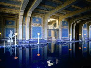 Hearst Castle, Casa Grande, Roman Pool by John Elk III