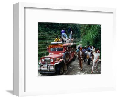 Jeepney Trip to Bangnan, Ifugao Province, Luzon, Southern Tagalog, Philippines