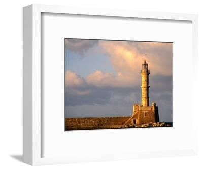 Lighthouse Built in 16th Century, Hania, Greece
