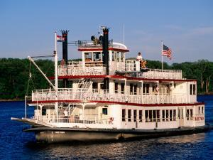 Mark Twain Riverboat, Hannibal, Missouri by John Elk III