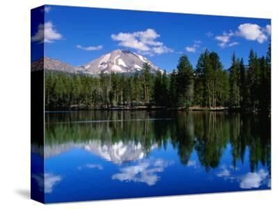 Mt. Lassen and Reflection Lake, California