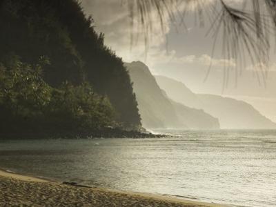 Na Pali Coast, Ke'E Beach, Kauai, Hawaii