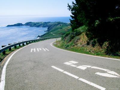 Point Bonita from Marin Headlands Road, Marin County, California by John Elk III