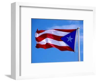 Puerto Rican Flag, San Juan, Puerto Rico