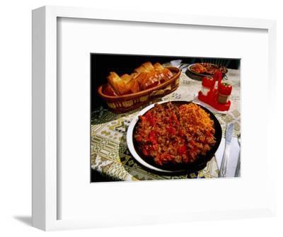 Sac Kavurma Meat Dish, Kelebek Pension, Goreme, Nevsehir, Turkey
